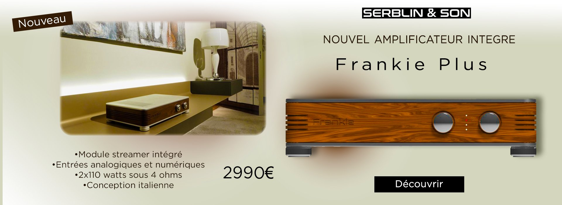 Serblin & Son Frankie Plus